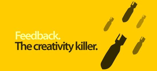 ¿Qué mata tu creatividad?