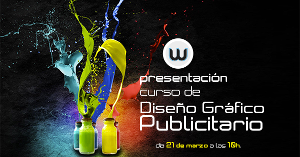 Presentación del nuevo curso de Diseño Gráfico Publicitario