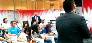 Jornada técnica de Nowe Creative en Ricoh España