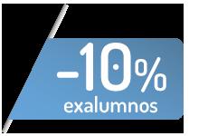 Descuento del 10% para ex-alumnos